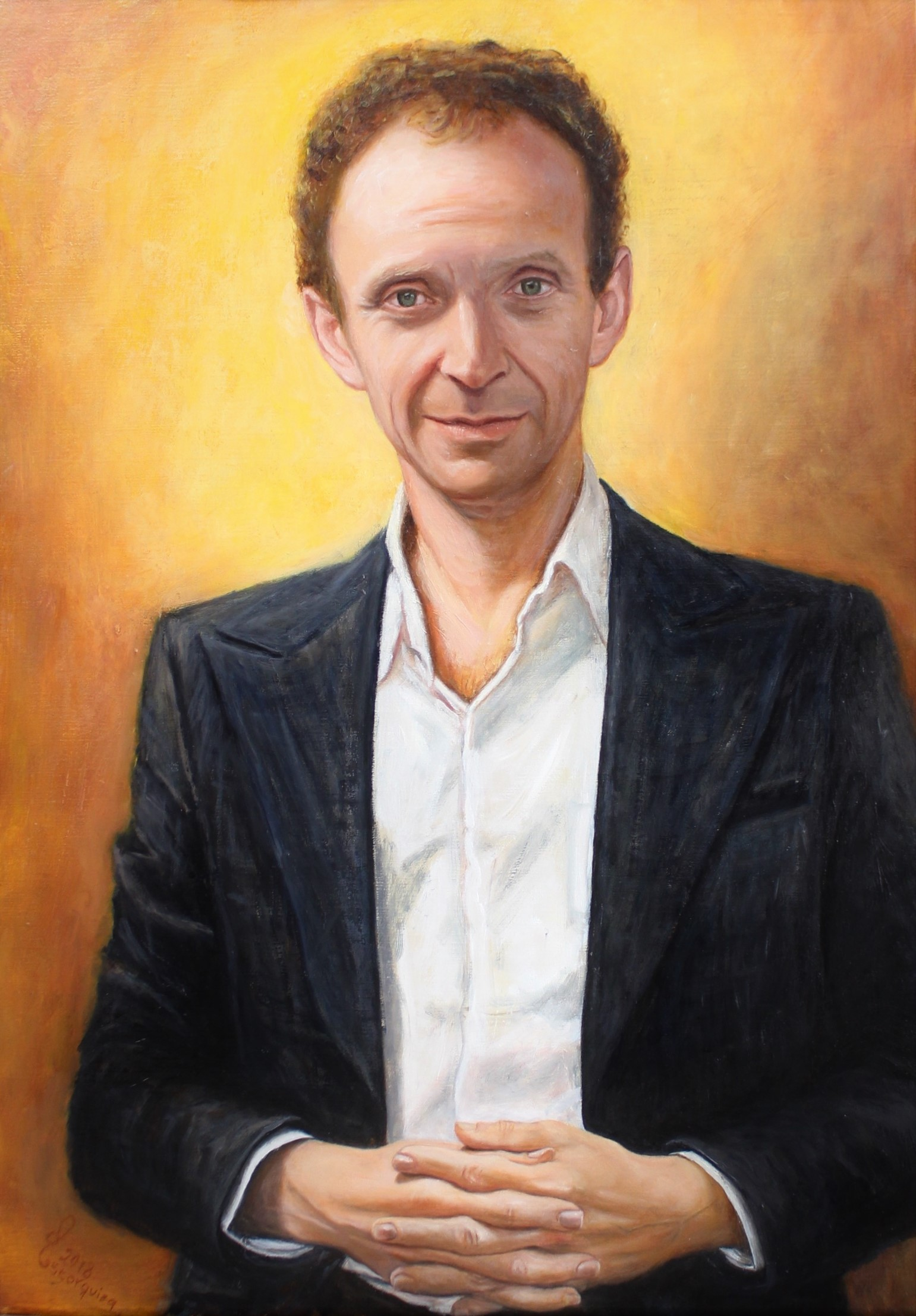 Oil Portrait | Alejandra Astorquiza | Alexandra Astorquiza | portrait huile | retrato oleo